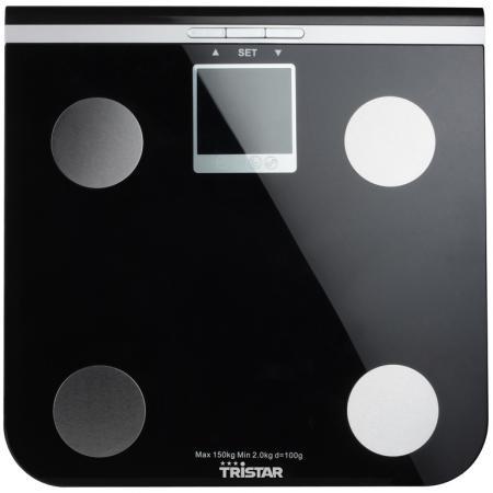 Весы напольные Tristar WG-2424 чёрный tristar wg 2421 весы напольные