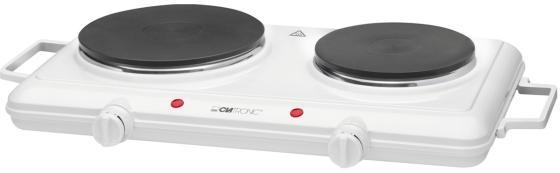 Электроплитка Clatronic DKP 3583 белый настольная плита clatronic dkp 3583 weib