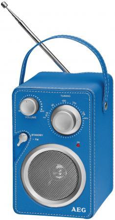цена на Радиоприемник AEG MR 4144 blue Aux-In