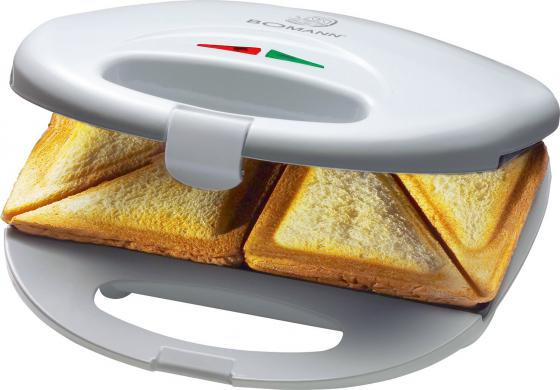 Сэндвичница Bomann ST 5016 CB белый бутербродница bomann st 5016