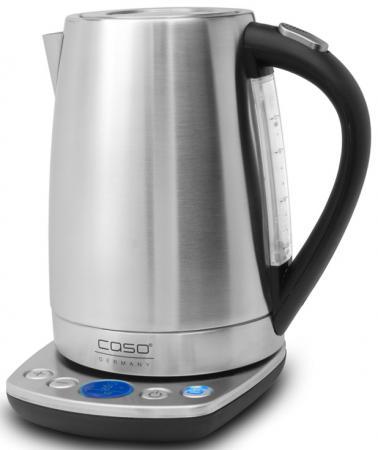 Чайник CASO WK 2200 2200 Вт 1.7 л нержавеющая сталь серебристый чайник clatronic wks 3625 2200 вт фиолетовый 1 8 л металл