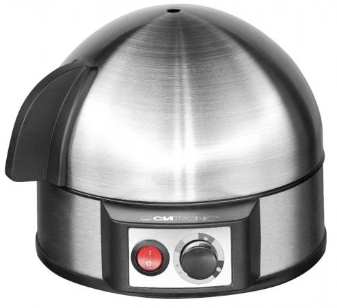 Яйцеварка Clatronic EK 3321 400 Вт серебристый