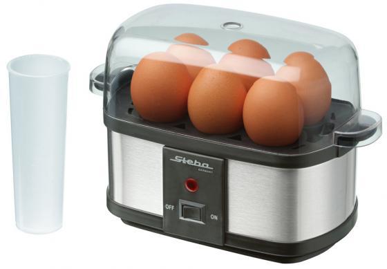 Яйцеварка Steba EK 3 plus 350 Вт черный серебристый яйцеварка steba ek 3