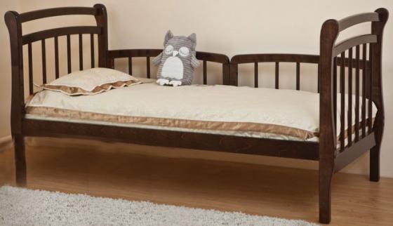 Кровать подростковая Красная Звезда Арсений (шоколад)
