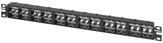 Патч-панель Panduit CPP48HDWBLY 19 1U 48 портов черный