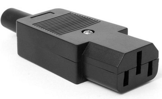 лучшая цена Вилка Lanmaster C13 LAN-IEC-320-C13