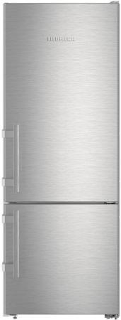 Холодильник Liebherr CUef 2915-20 серебристый двухкамерный холодильник liebherr cuwb 3311