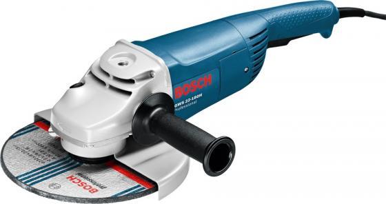 Углошлифовальная машина Bosch GWS 22-180 H 180 мм 2200 Вт ушм болгарка bosch gws 22 180 h 0 601 881 103
