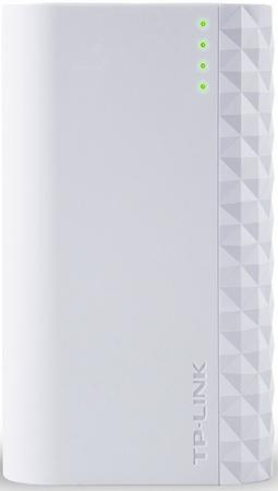 Портативное зарядное устройство TP-LINK TL-PB5200 5200мАч microUSB белый портативное зарядное устройство tp link tl pb15600 15600мач