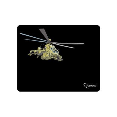 все цены на Коврик для мыши Gembird MP-GAME9 с рисунком вертолет онлайн