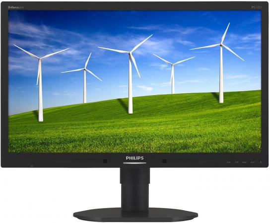 Монитор 23 Philips 231B4QPYCB 00/01 черный IPS 1920x1080 250 cd/m^2 7 ms DVI DisplayPort VGA Аудио USB монитор 23 6 philips 246e7qdab 00 01 черный ips 1920x1080 250 cd m^2 5 ms dvi hdmi vga аудио
