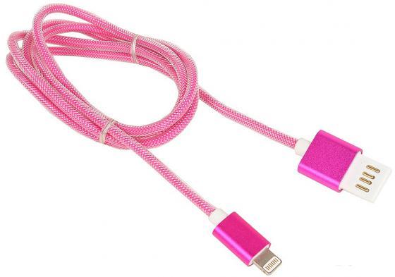 Кабель Lightning 1м Cablexpert круглый CCB-ApUSBr1m кабель usb 2 0 cablexpert am lightning 8p 1м темно серый металлик