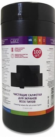 Влажные салфетки CBR CS 0033-100 100 шт 5piece 100