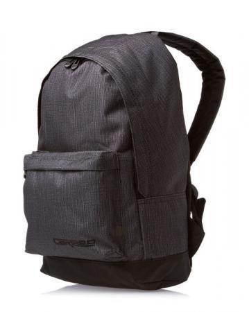 Рюкзак с анатомической спинкой CARIBEE Campus 22 л черный 6470 рюкзак campus murter olive