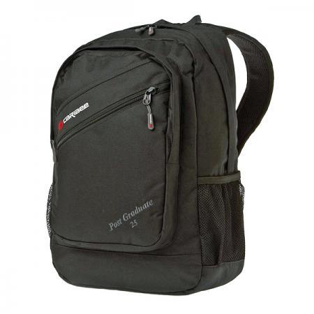 Рюкзак с отделением для ноутбука CARIBEE Post Graduate 25 л черный 6452 городской рюкзак с отделением для ноутбука deuter graduate 28 л синий 80232 3608