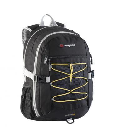 Рюкзак с анатомической спинкой Caribee Cisco 30 л черный 64261 рюкзак с анатомической спинкой caribee x trek 28 28 л черный оранжевый 6382