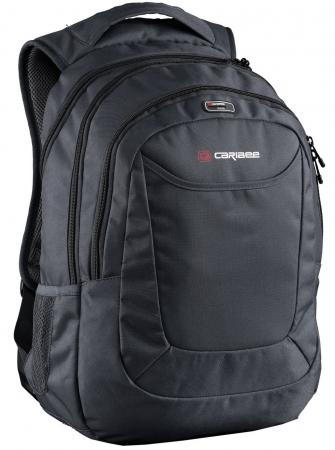 Рюкзак с отделением для ноутбука CARIBEE College 30 30 л черный 64152 отбеливатель бос плюс жидкий 1 2 л 10 шт 20068