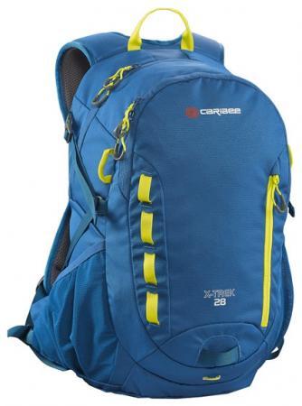 Рюкзак с анатомической спинкой Caribee X-trek 28 28 л синий желтый 63821 рюкзак с анатомической спинкой caribee x trek 28 28 л черный оранжевый 6382
