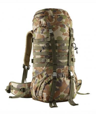 Рюкзак с анатомической спинкой Caribee Cadet 65 л разноцветный 6940 рюкзак с анатомической спинкой caribee x trek 28 28 л синий желтый 63821