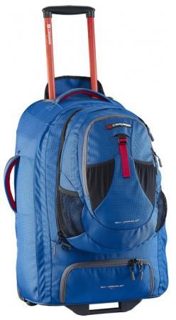 Рюкзак на колесах CARIBEE Europa 60 л голубой 6824 рюкзаки caribee рюкзак на колесах caribee fast track 85