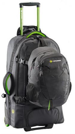 Рюкзак на колесах Caribee Fast Track 75 75 л черный 6904 рюкзак caribee pulse 65 л черный 6612