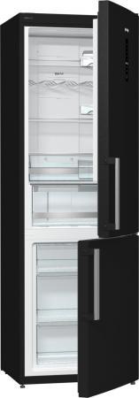 Фото Холодильник Gorenje NRK6192MBK черный