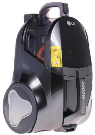 Пылесос LG V-K75W01H сухая уборка серый пылесос lg v k76w02hy
