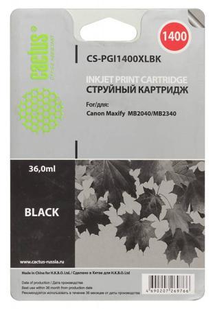 Фото - Картридж Cactus CS-PGI1400XLBK для Canon MB2050/MB2350/MB2040/MB2340 черный thor 46