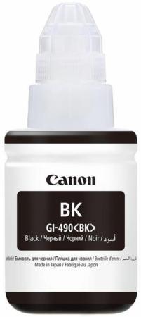 Фото - Чернила Canon GI-490 BK для G1400/2400/3400 черный 0663C001 чернила revcol универсал для hp canon 100ml yellow dye