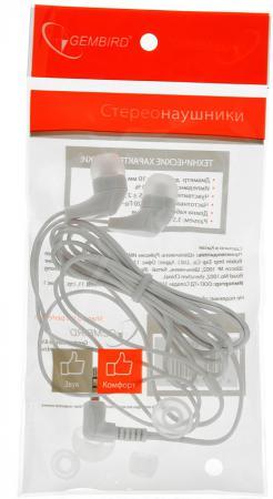 Наушники Gembird MP3-EP14W белый стоимость