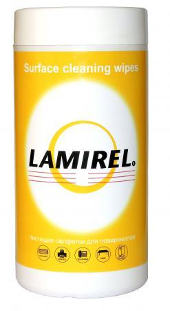 Чистящие салфетки Fellowes Lamirel LA-5144001 100 шт влажные салфетки fellowes lamirel la 61617 01 24 шт
