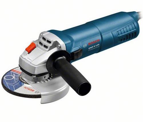 Углошлифовальная машина Bosch GWS 9-125 125 мм 900 Вт углошлифовальная машина bosch gws 17 125 cie 125 мм 1700 вт
