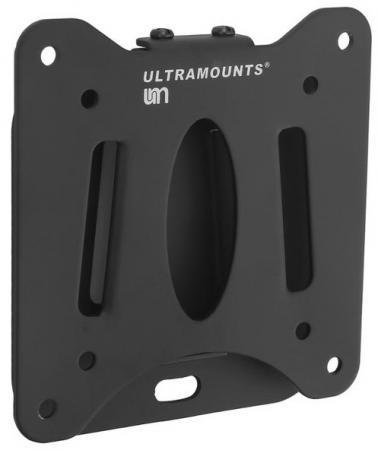 Кронштейн Ultramounts UM216 черный 13-27 настенный от стены 14мм VESA 75x75 до 30кг