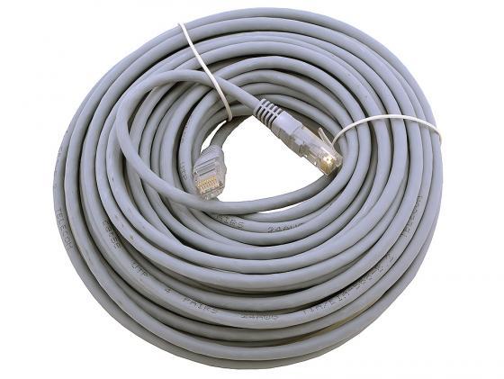 Патч-корд UTP 5e категории 15м серый CCA PVC utp 5 в нальчике