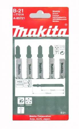 Лобзиковая пилка Makita A-85721 5шт лобзиковая пилка makita a 80400 5шт