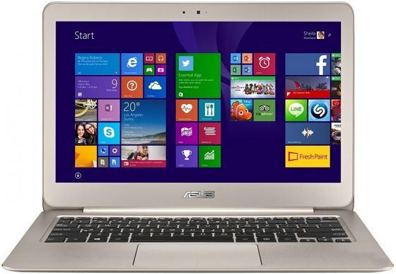 Ультрабук ASUS Zenbook UX305UA 13.3 1920x1080 Intel Core i5-6200U 256 Gb 4Gb Intel HD Graphics 520 серебристый золотистый Windows 10 Home 90NB0AB5-M02350