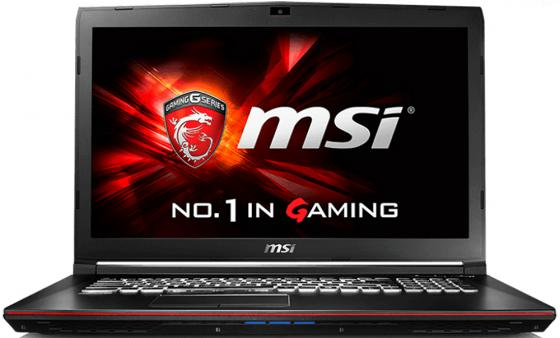 "Ноутбук MSI GP72 6QF-274RU 17.3"" 1920x1080 Intel Core i5-6300HQ 1 Tb 8Gb nVidia GeForce GTX 960M 2048 Мб черный Windows 10 9S7-179553-274 ноутбук msi gp72 6qf 274ru 17 3"