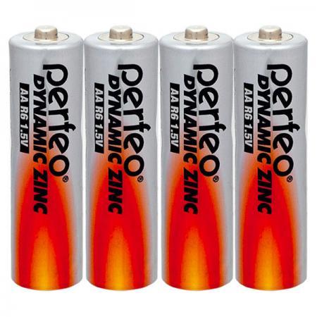 Батарейки Perfeo R6/4SH Dynamic Zinc AA 4 шт все цены