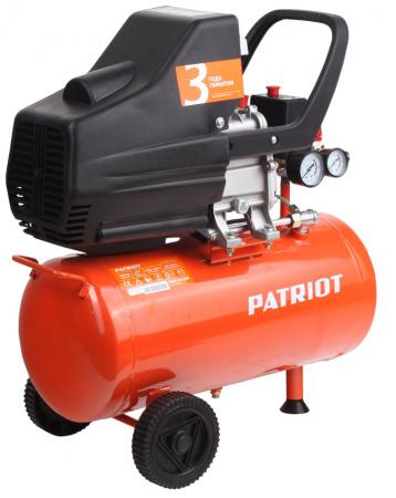 Компрессор Patriot Euro 24-240 поршневой 525306365 компрессор поршневой hyundai hy 2575