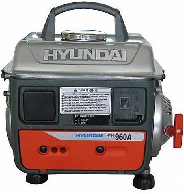 Генератор Hyundai HHY 960A 2 л.с бензиновый  генератор бензиновый hyundai hhy 3000f