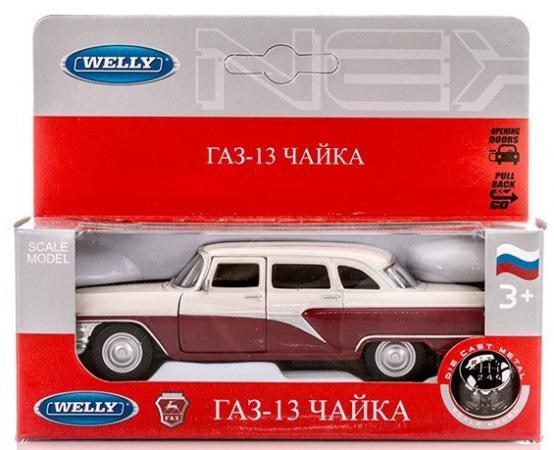 Автомобиль Welly Чайка GAZ 13 1:34-39 чехол autoprofi gaz 003 cyclone
