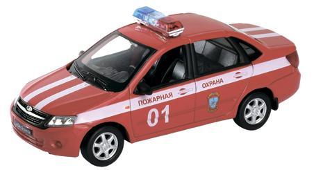 Пожарная охрана Welly Lada Granta 1:34-39 машины welly модель машины 1 34 39 lada granta пожарная охрана page 10