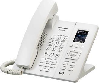 Телефон IP Panasonic KX-TPA65RU белый телефон ip panasonic kx nt556rub черный