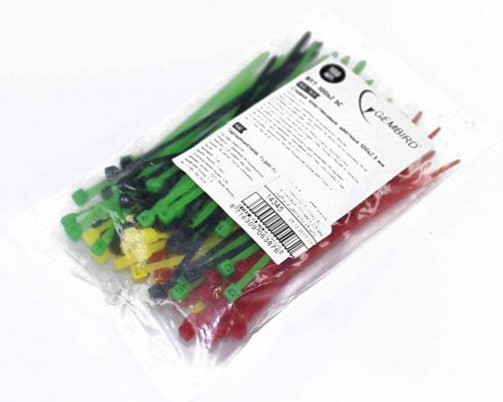 Cтяжка пластиковая Gembird NYT-100x2.5С 100шт 101 36 производственный и хозяйственный инвентарь что относится