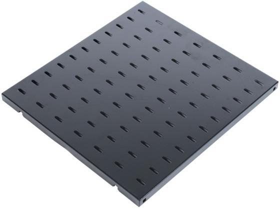 Полка перфорированная ЦМО глубина 750 мм черный СВ-75-9005 цена и фото