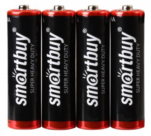 Батарейка Smart Buy R6 AA R6 4 шт SBBZ-2A04S 1pcs lot battery holder box case 3x aa 4 5v with switch