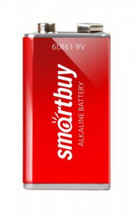 Батарейка Smartbuy SBBA-9V01B 6LR61 1 шт smartbuy smartbuy sbba 2a40s aa 1