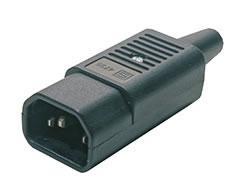Разъем Hyperline CON-IEC320C14 плинт соединительный hyperline на 10 пар маркировка 1 0 kr pl 10 con 1
