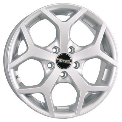 Диск Tech Line 511 6x15 5x108 ET52.5 Silver диск tech line 1501 x x