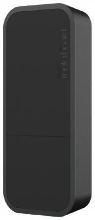 все цены на Точка доступа Mikrotik wAP 802.11n 300Mbps 2.4ГГц черный RBwAP2nD-BE